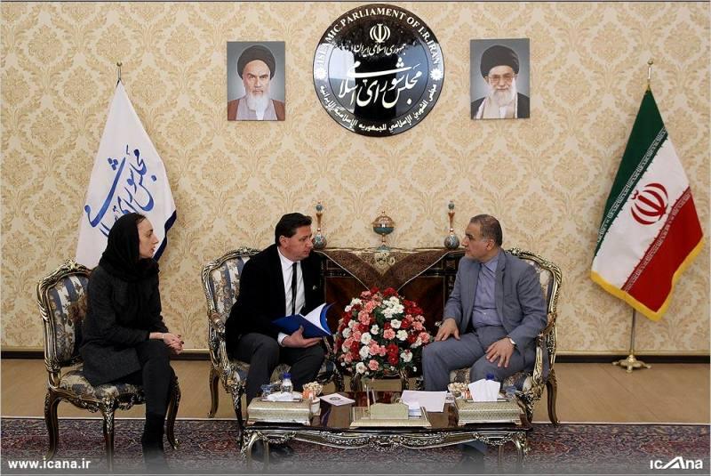 گزارش تصویری/ دیدار احمد علیرضا بیگی با سفیر بلغارستان در ایران