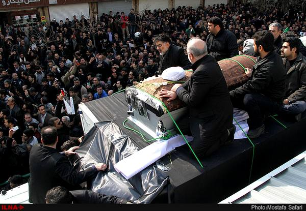 تشییع آیتالله هاشمی بعد از امام، بزرگترین تشییع تاریخ یکصد ساله ایران است
