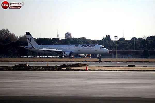 دلهره شدید و وحشت مسافران هواپیمای « ایرباس » در آسمان تهران