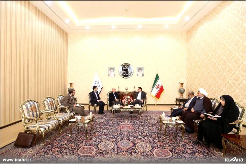 گزارش تصویری/ دیدار گودرزی با سفیر الجزایر در ایران