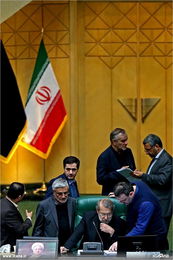 گزارش تصویری/ چهل و یکمین جلسه بررسی جزئیات لایحه برنامه ششم در صحن علنی مجلس