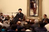 دیدار جمعی از اصلاحطلبان مازندران با یادگار امام/ درخواست کشاورزیان از سیدحسن خمینی