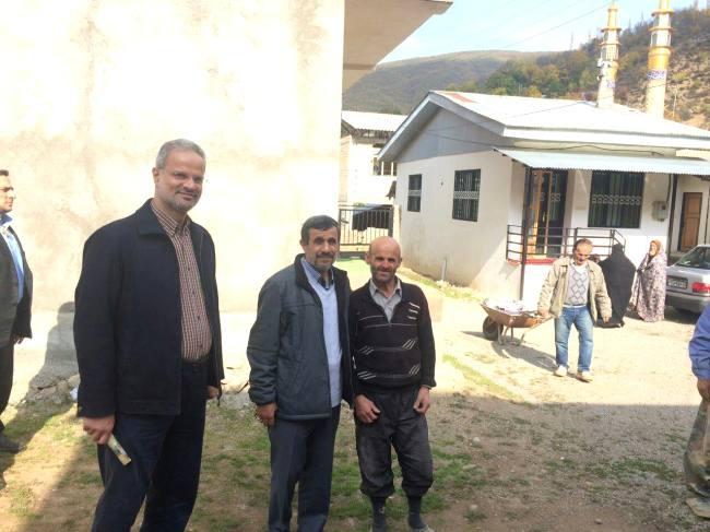 احمدینژاد؛ همچنان در سودای قدرت و یا تفریح در روز تولد؟! + تصاویر