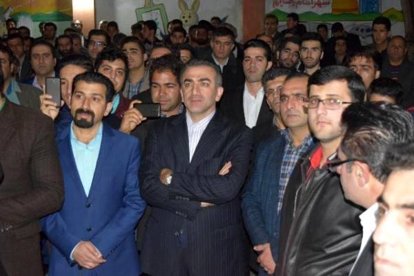نشست خبری صادق خرازی با محوریت (نقش انتخابات در توسعه پایدار) در بهشهر