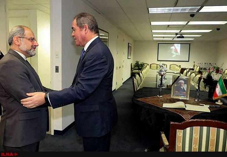 دفتر یادبود هاشمی در نیویورک