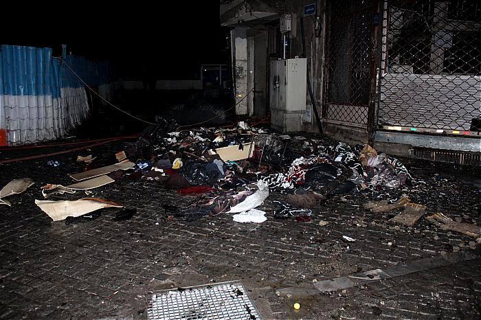 انفجار و آتش سوزی در انبار عطر و ادکلن