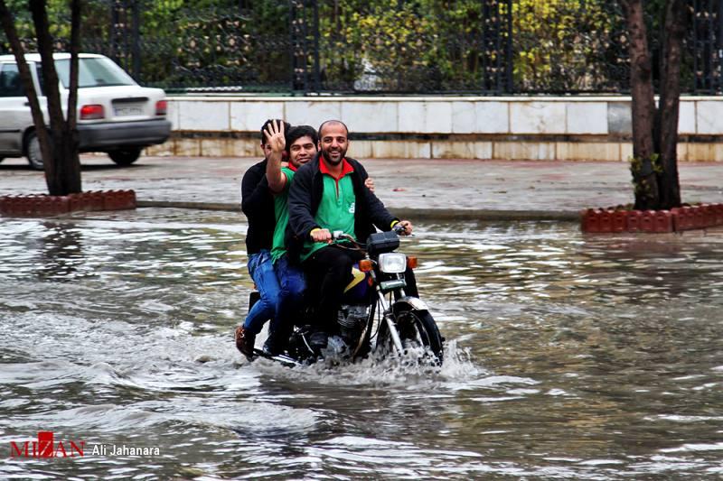 ثبت بارش 372 میلیمتر باران در جم بوشهر/ 1.5 برابر میانگین سالانه باران بارید