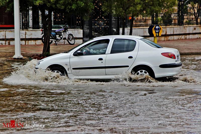 در سه روز به اندازه یکسال باران بارید/ دستور تخلیه روستاهای اطراف دو رودخانه صادر شد