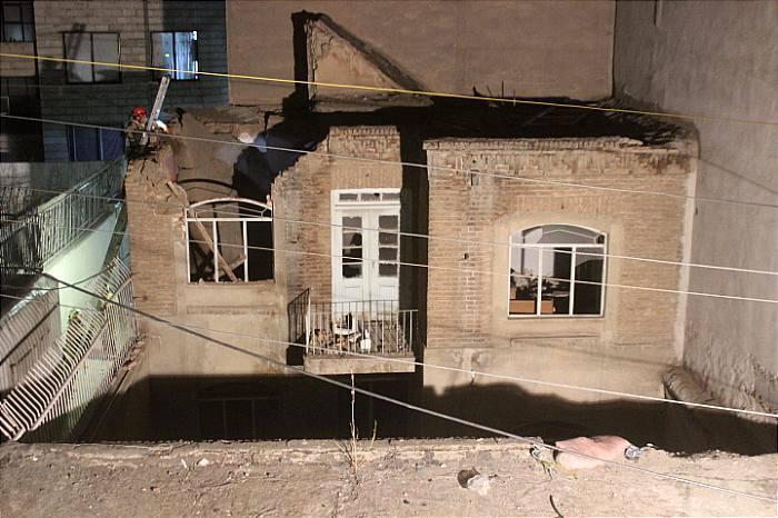 ایمن سازی ساختمان قدیمی قبل از ریزش
