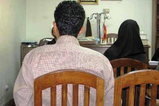 درخواست طلاق از شوهر بدهکار